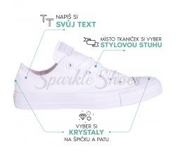 Svatební Converse Converse Chuck Taylor All Star 1U647 white