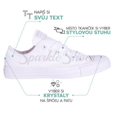Svadobné Converse Chuck Taylor All Star 1U647 white