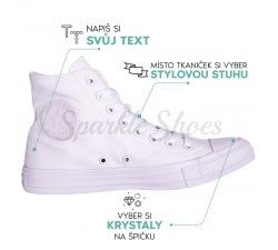 Converse Chuck Taylor All Star 1U646 SparkleS Swarovski white