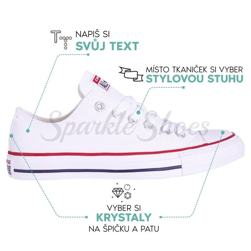 Svatební Converse Chuck Taylor All Star M7652 bílé