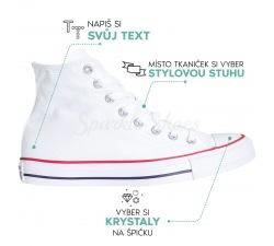 Svatební Converse Chuck Taylor All Star M7650 bílé