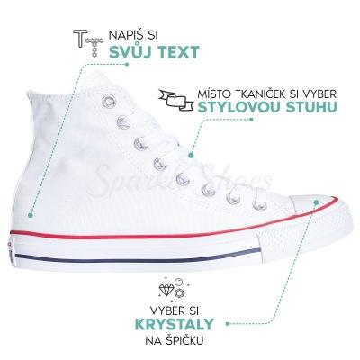 Svadobné Converse Chuck Taylor All Star M7650 biele