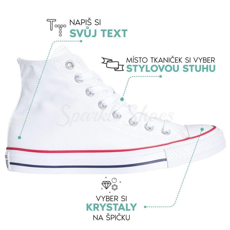 Converse Chuck Taylor All Star M7650 Swarovski
