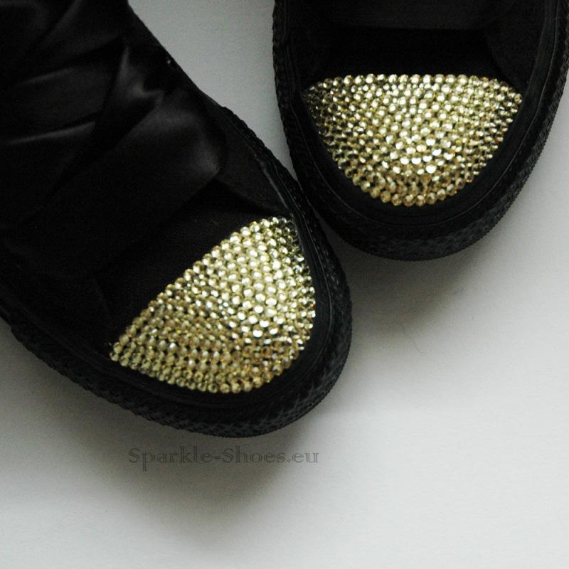 c84a0309dc8 Converse Chuck Taylor All Star M3310 SparkleS Black Gold - Sparkle ...