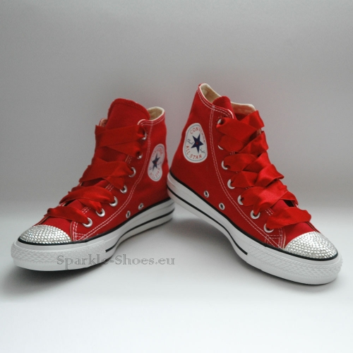 37239d8f3 Converse Chuck Taylor All Star M9621 SparkleS Red/Clear - Sparkle ...