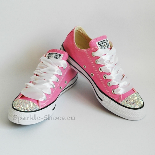22cc0731f941 Converse Chuck Taylor All Star M9007 SparkleS Pink AB - Sparkle-Shoes.eu
