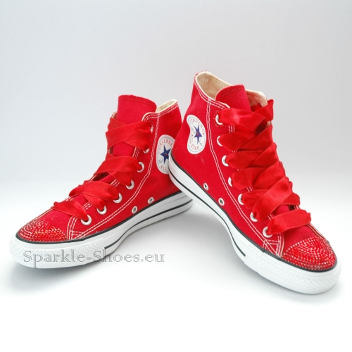 Converse Chuck Taylor All Star M9621 SparkleS red