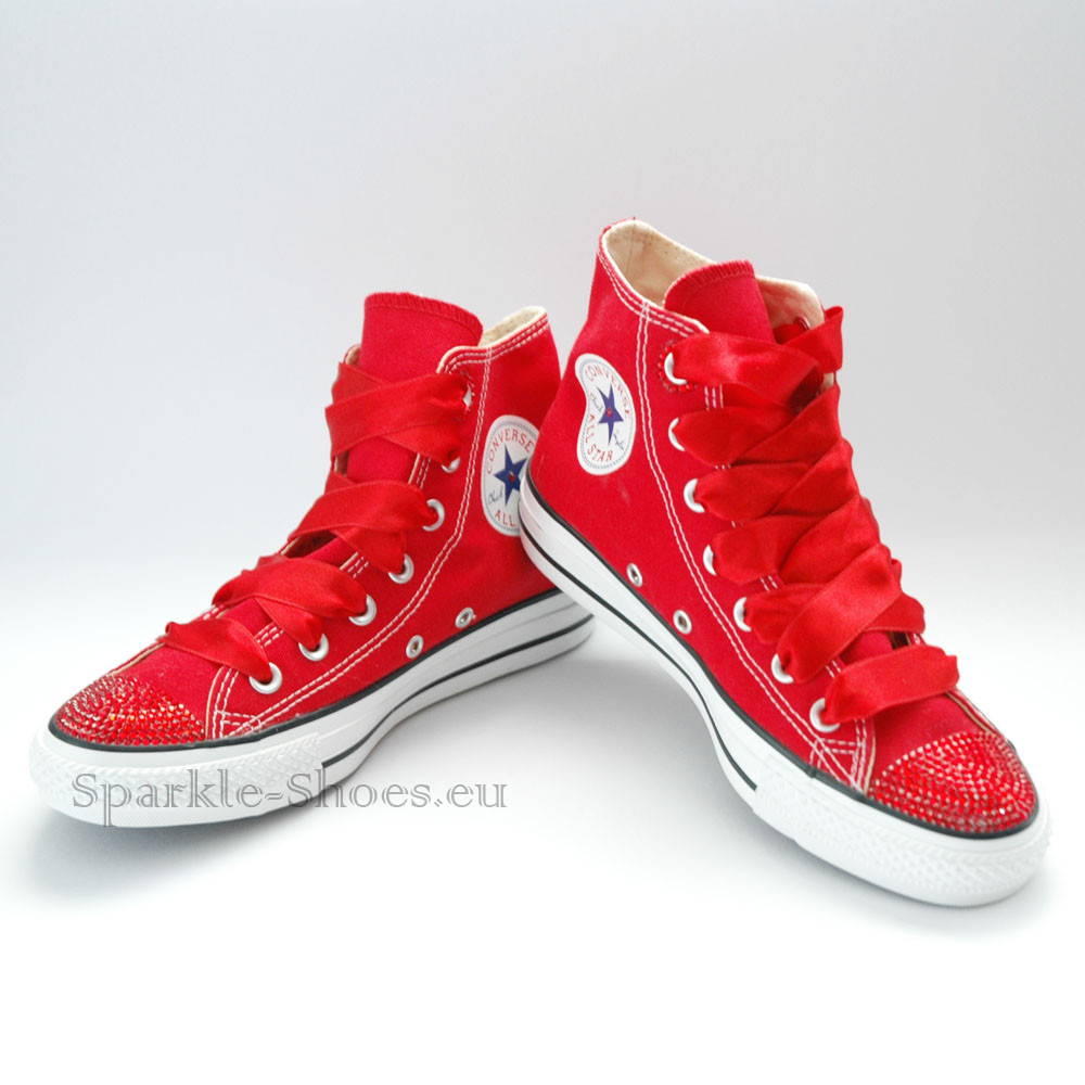 1775f63c3340f Converse Chuck Taylor All Star M9621 SparkleS red ...