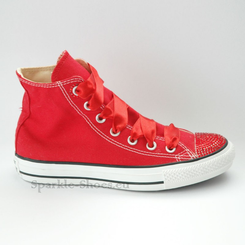 f8a21d146af3c Converse Chuck Taylor All Star M9621 SparkleS Red/Red - Sparkle-Shoes.eu