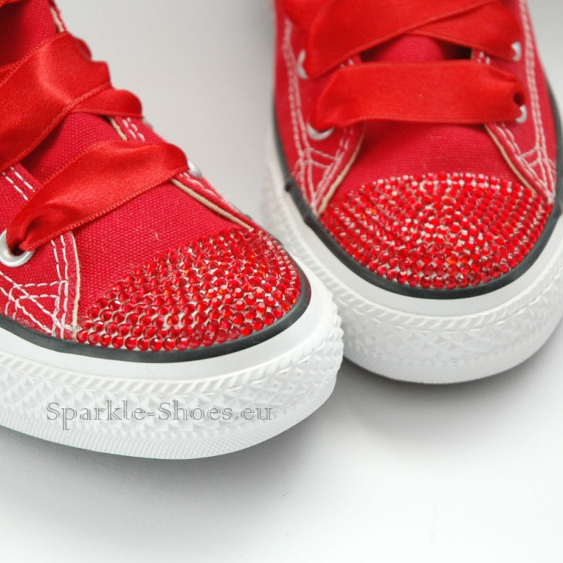 2f0ac4d905b Converse Chuck Taylor All Star M9621 SparkleS Red Red - Sparkle-Shoes.eu
