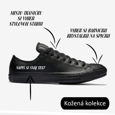 Converse Chuck Taylor All Star 135253 leather black