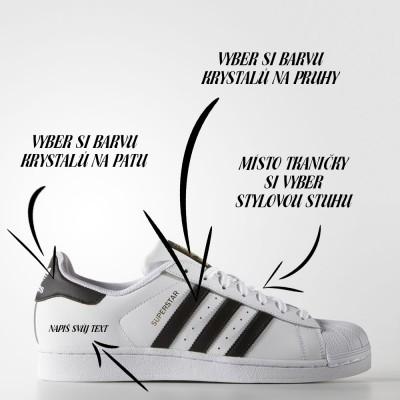 Adidas Superstar Foundation white/black