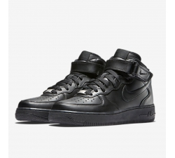Nike Air Force 1 Mid black SparkleS