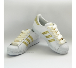 Adidas Superstar Foundation biele