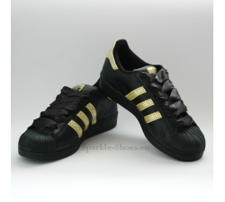 Adidas Superstar Foundation Black gold