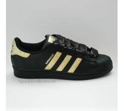 Adidas Superstar Foundation Black gold