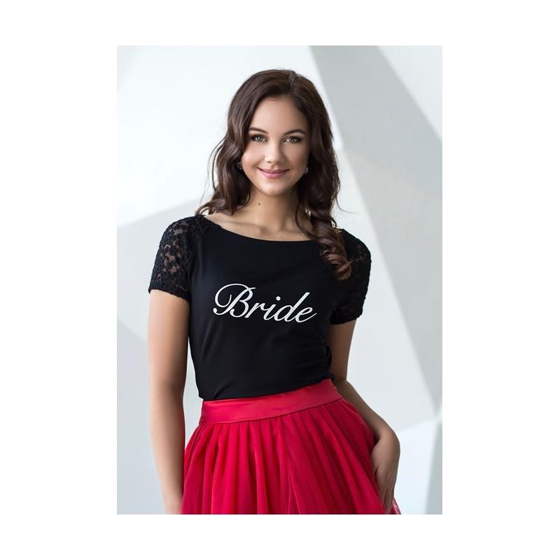 Svatební tričko s nápisem SS1901
