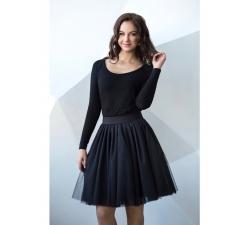 Obojstranná tutu sukne čierna