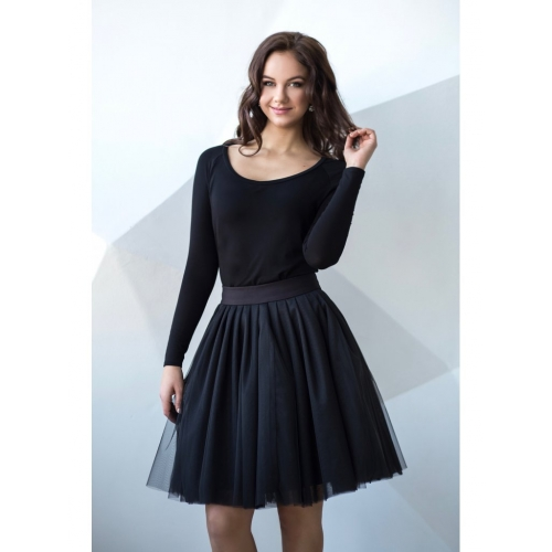 ac173b44665e Obojstranná tutu sukňa čierna - Sparkle-Shoes.eu
