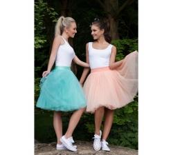 Oboustranná tutu sukně meruňková