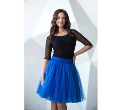 Obojstranná tutu sukne modrá