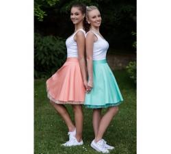 Obojstranná tutu sukne mint
