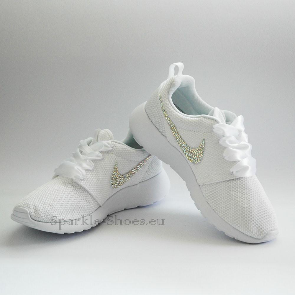 Nike Rosherun SparkleS White/AB - 36