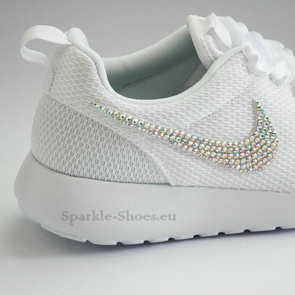 Nike Nike Rosherun SparkleS White/AB - 42 511882-111