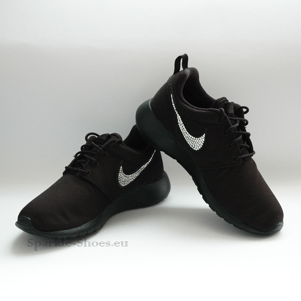 Nike Nike Roshe One SparkleS Black/Clear - 37.5 599728-031