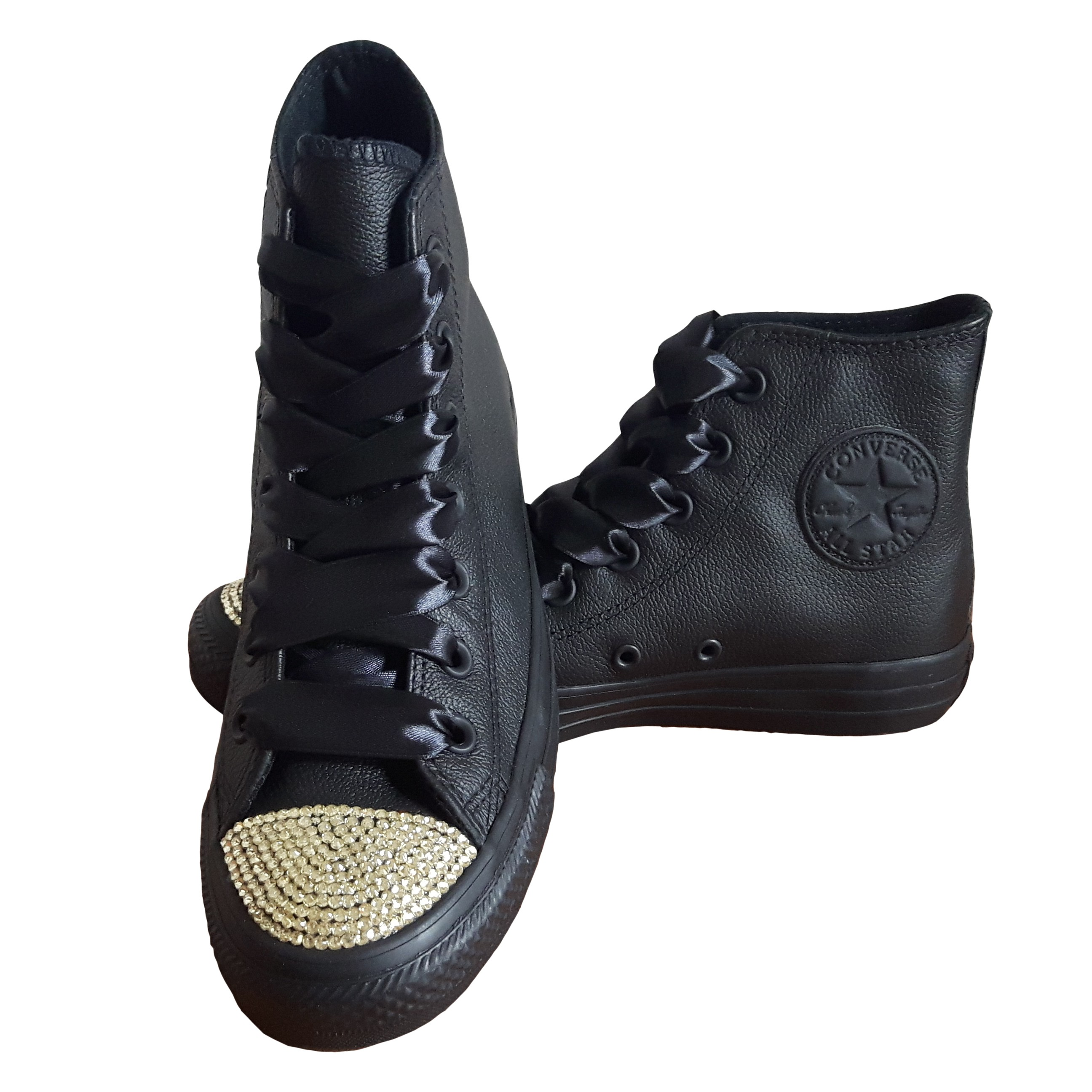 Converse Converse Chuck Taylor All Star 135251 SparkleS Leather Black/Gold - 41 C135251