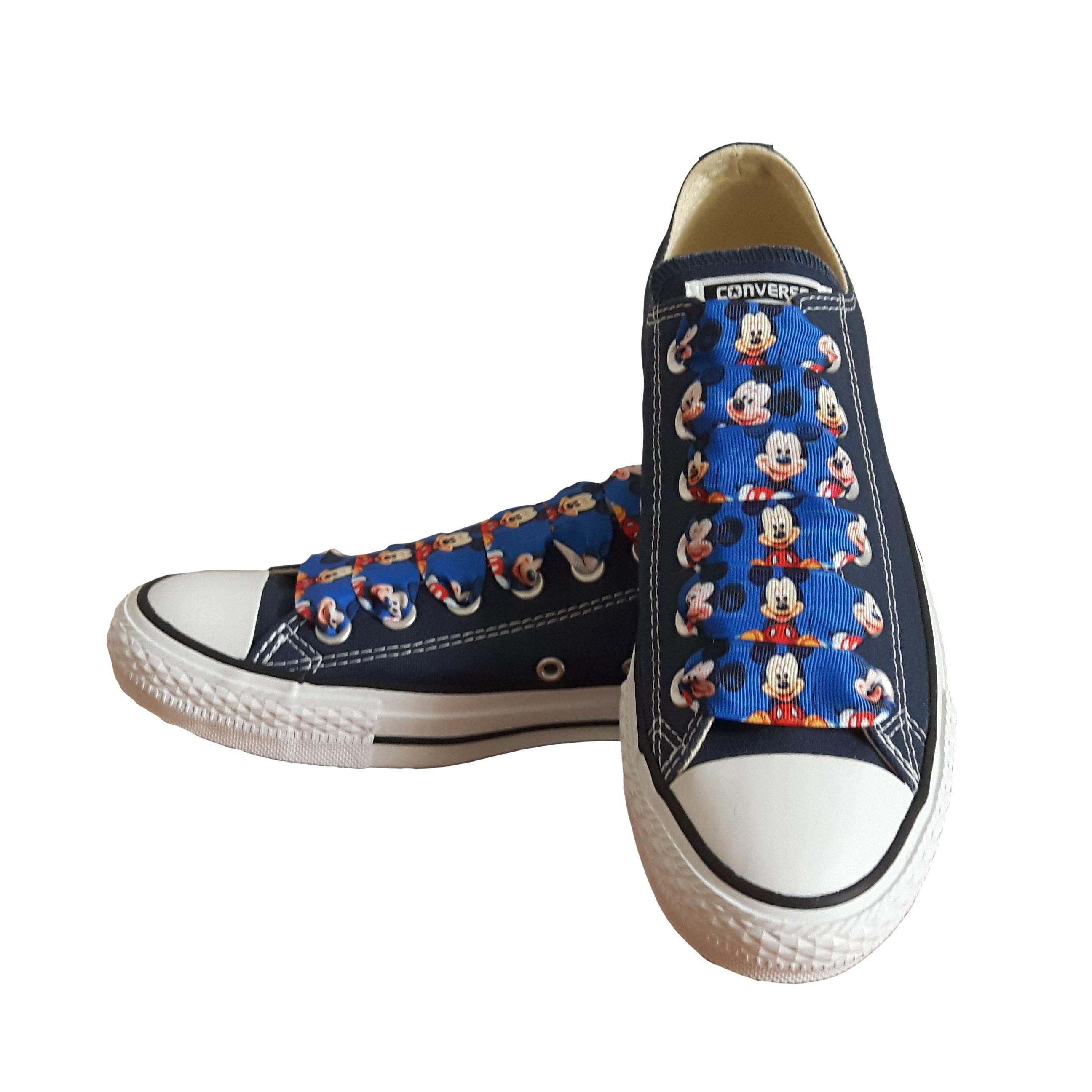 Converse Dětské Converse Chuck Taylor All Star 3J237 SparkleS Mickey Navy - 31.5 3J237