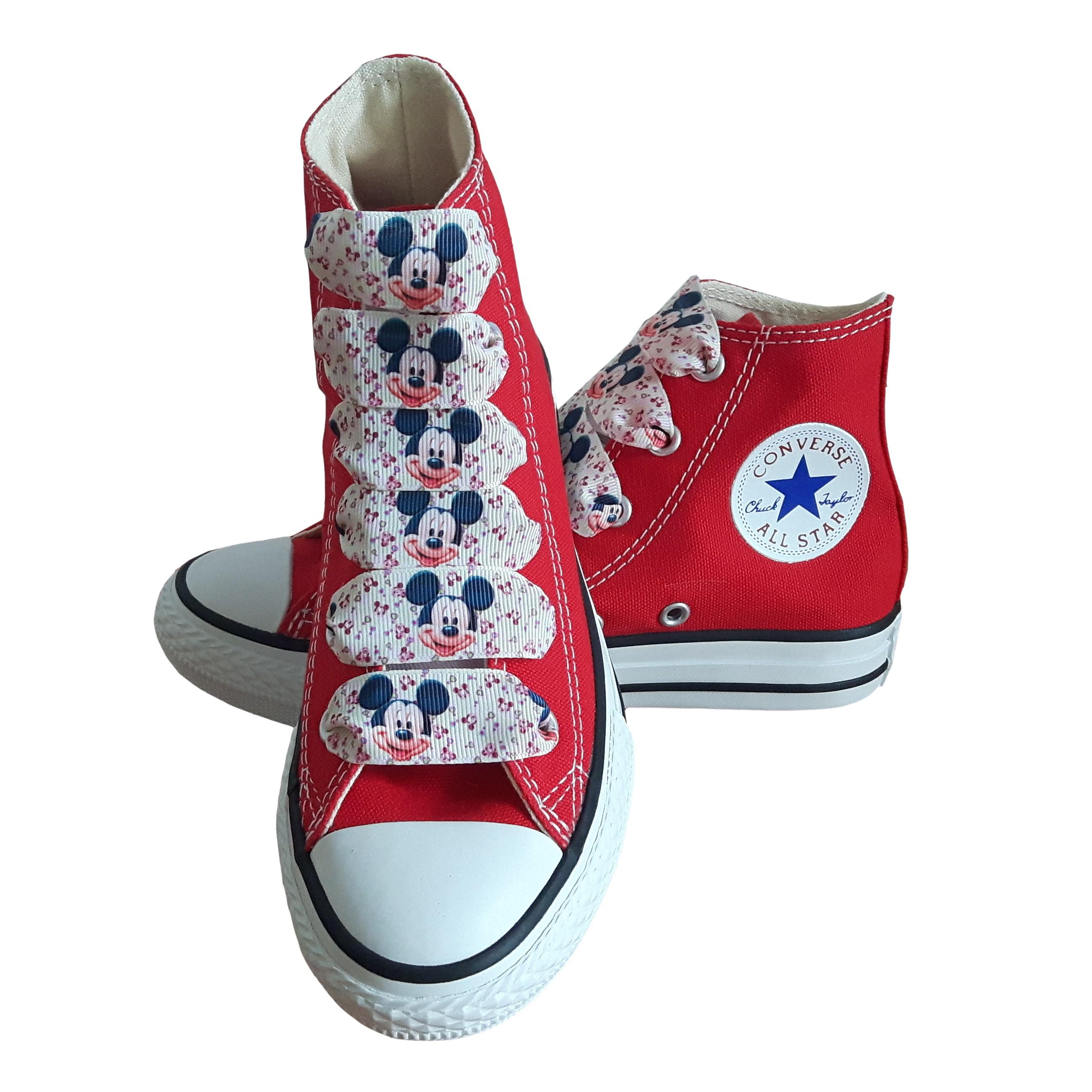 Converse Dětské Converse Chuck Taylor All Star 3J232 SparkleS Mickey - 29 3J232