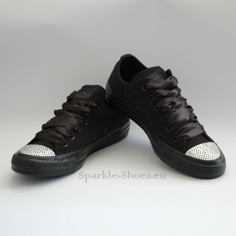 288f587a0f1e Converse Converse Chuck Taylor All Star M5039 SparkleS Black Clear - 44  M5039
