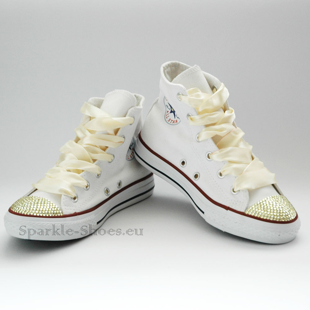 Converse Converse Chuck Taylor All Star M7650 SparkleS White/Gold - 40 M7650