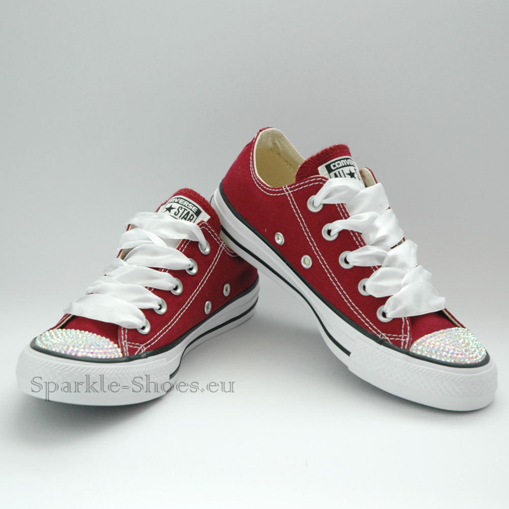Converse Converse Chuck Taylor All Star M9691 SparkleS Maroon/AB clear - 36 M9691