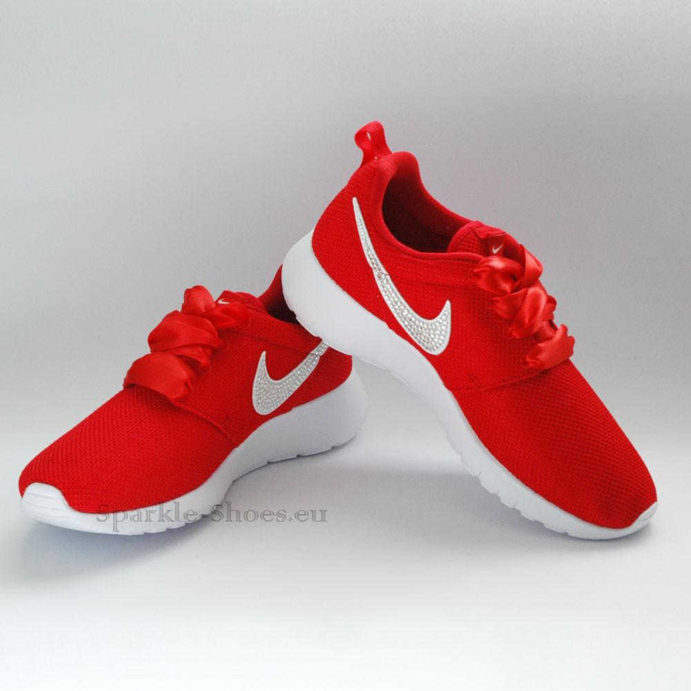 Nike Rosherun SparkleS Red/Clear - 38