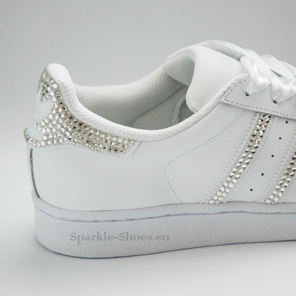 Adidas Superstar Foundation SparkleS White Clear - 4