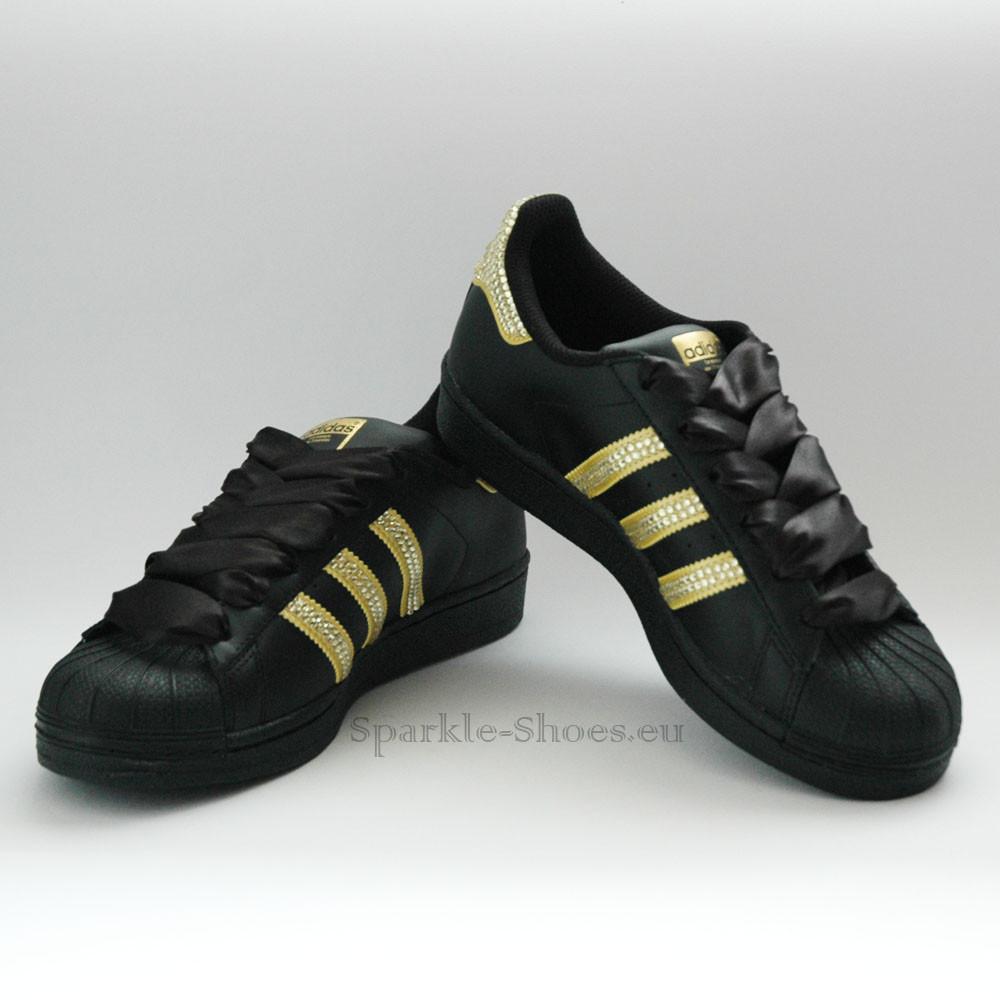 Adidas Adidas Superstar Foundation SparkleS Black/Gold - 5 BB2871