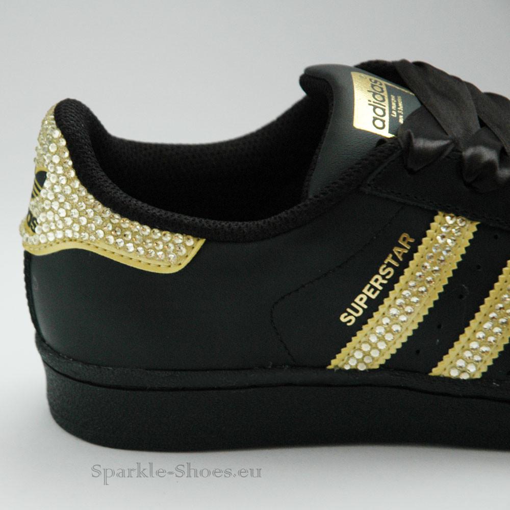 Adidas Superstar Foundation SparkleS Black/Gold - 5